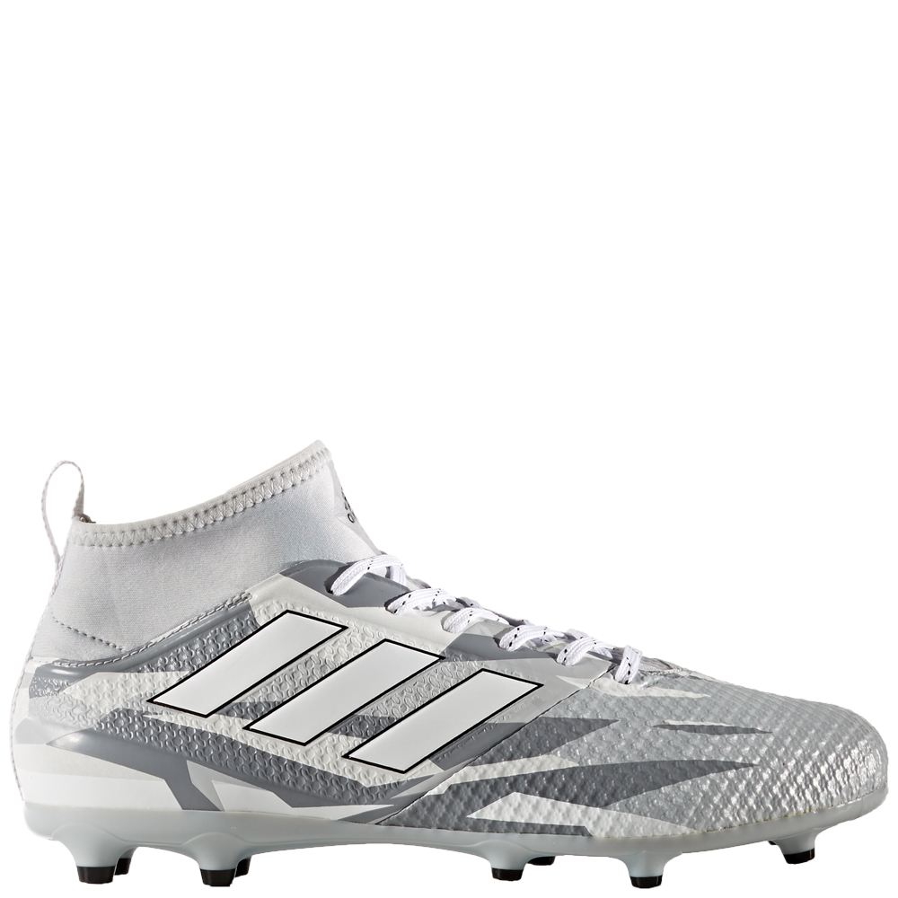 c96aff38 Adidas ACE 17.3 Primemesh FG Soccer Cleats (Clear Grey/White/Core Black)