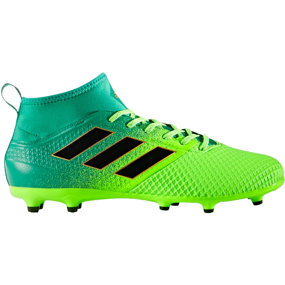 Adidas ACE 17.3 Primemesh FG Soccer Cleats (Solar Green/Core Black/Core  Green)
