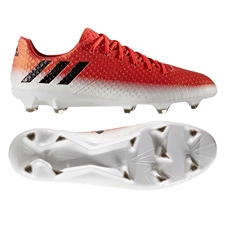 Adidas Messi 16.1 FG Soccer Cleats (Red/Black/White)