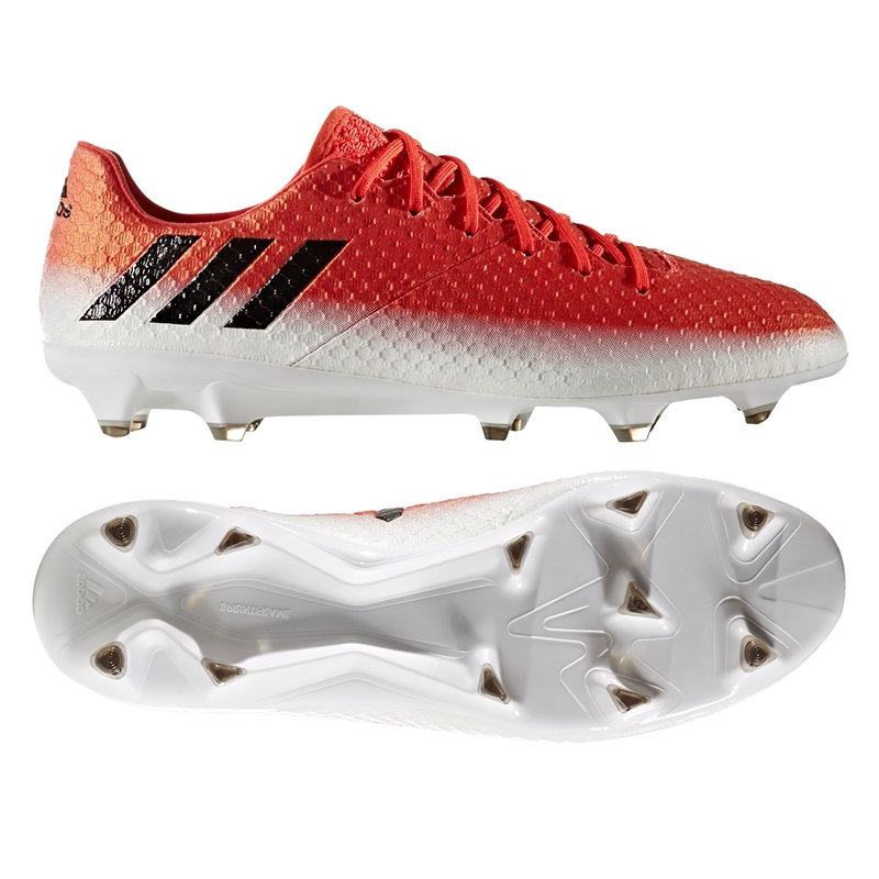 c8760506545 Adidas Messi 16.1 FG Soccer Cleats (Red Black White)