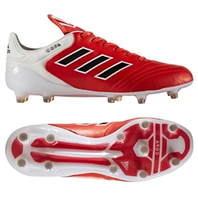 Adidas Copa 17.1 FG Soccer Cleat (Red/Black/White)