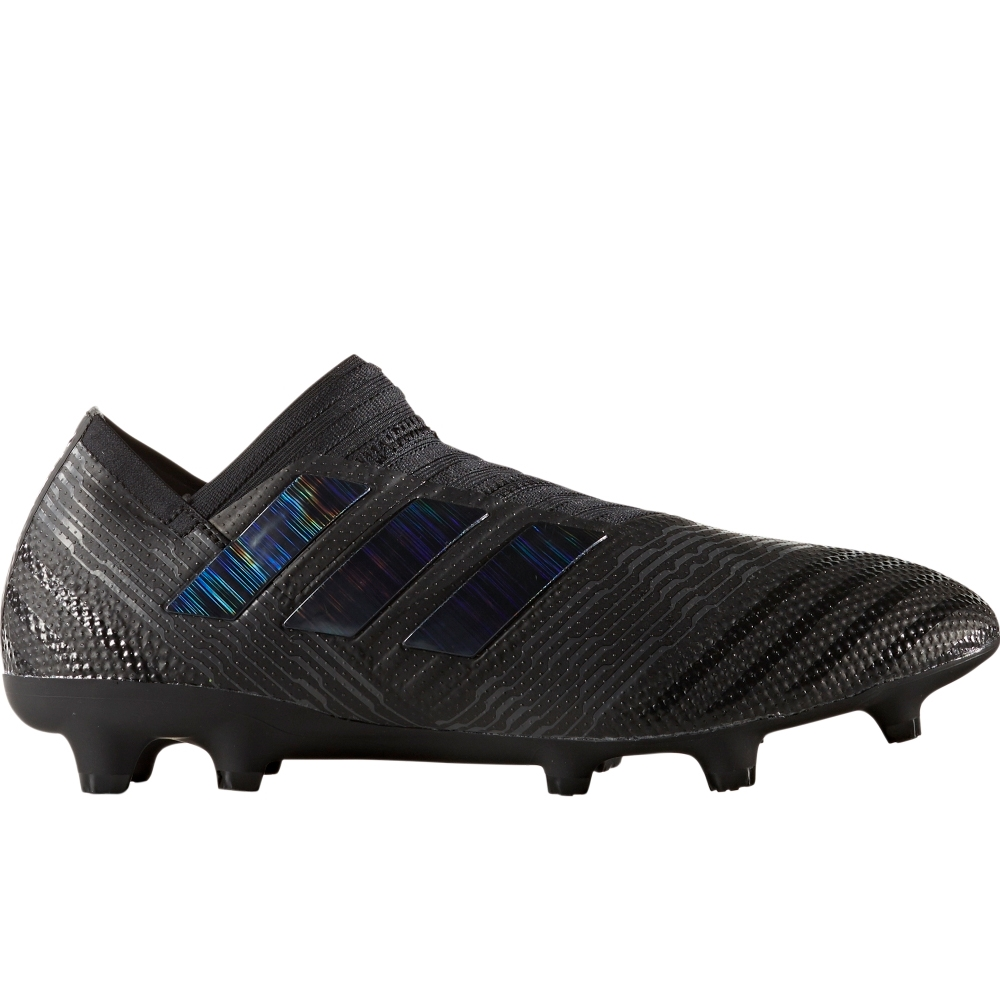 sports shoes a2b24 58cc3 Adidas Nemeziz 17+ 360Agility FG Soccer Cleats (Core Black)  BB3676