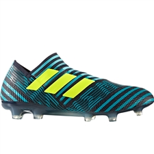 Adidas Nemeziz 17+ 360Agility FG Soccer Cleats (Legend Ink/Solar Yellow/Energy Blue)