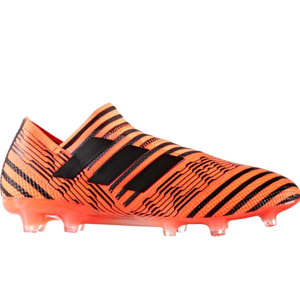 9ddfb65e3a3a Adidas Nemeziz 17+ 360Agility FG Soccer Cleats (Solar Orange Core Black)