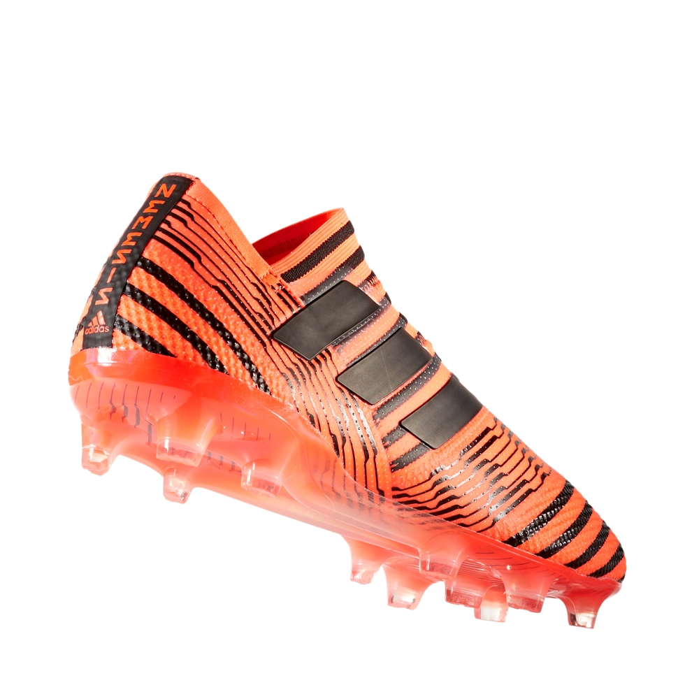 8c2b231d8ba2 Adidas Nemeziz 17+ 360Agility FG Soccer Cleats (Solar Orange Core Black)