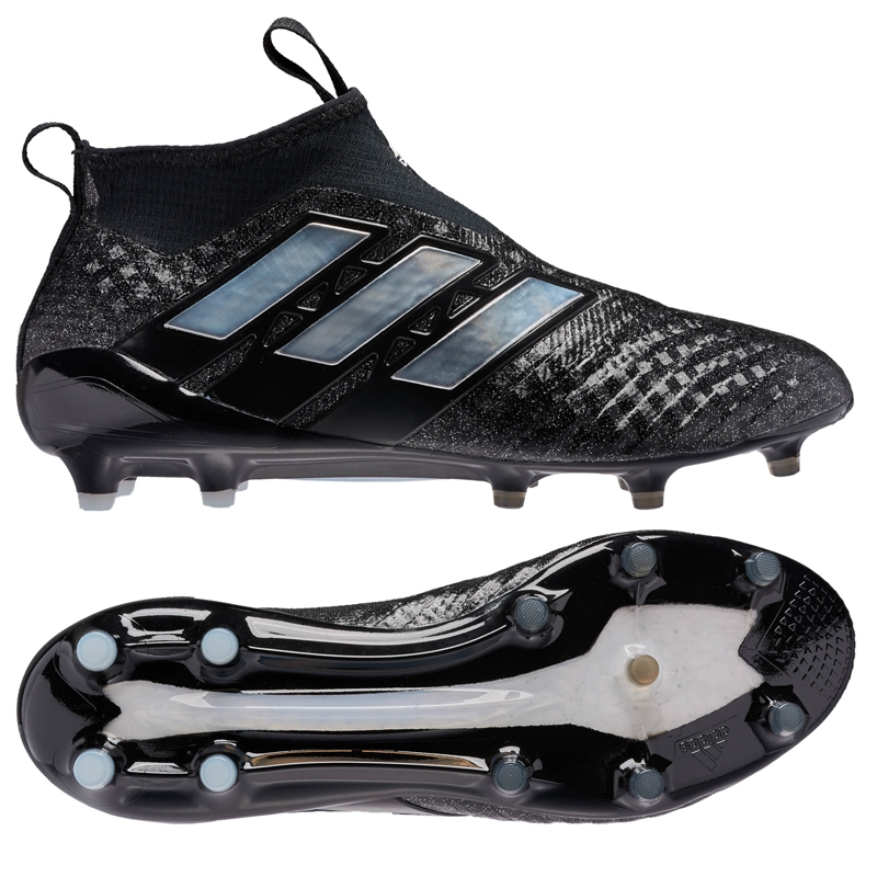 competitive price 4b233 0013f Adidas ACE 17+ PURECONTROL FG Soccer Cleats (Black/White)