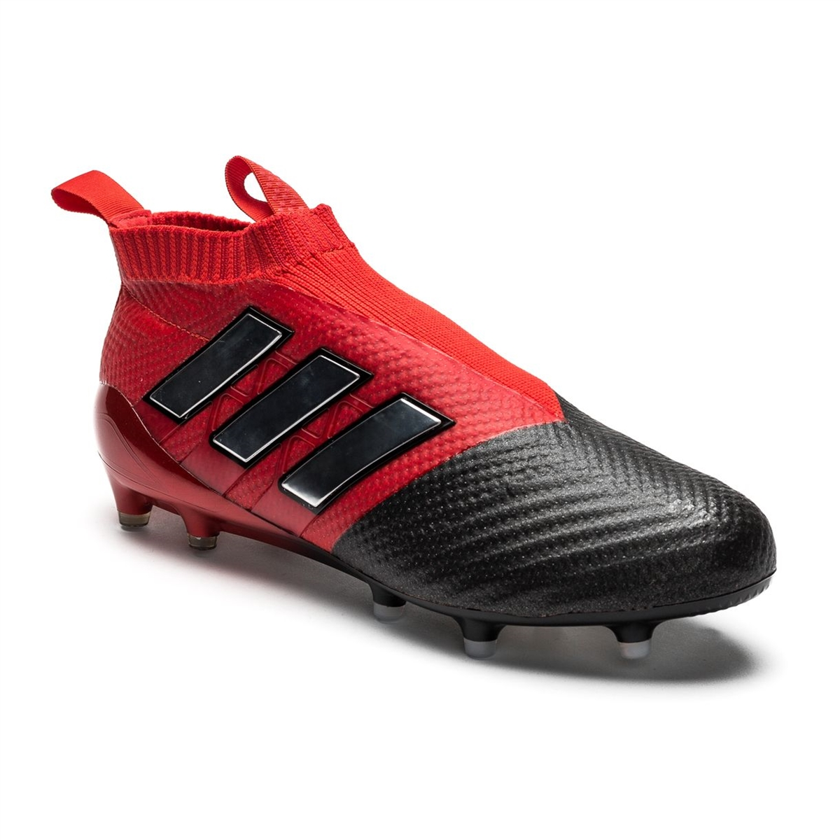 big sale fc1e8 55712 Adidas ACE 17+ PURECONTROL FG Soccer Cleats (Red/White/Black)