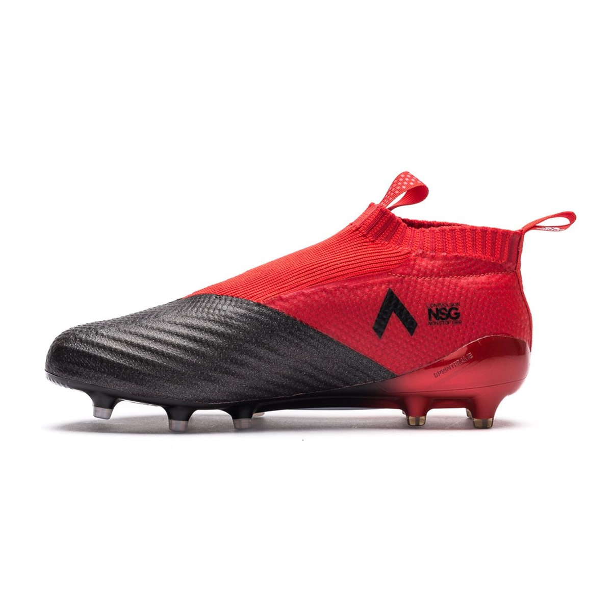 online store dae67 f6000 Adidas ACE 17+ PURECONTROL FG Soccer Cleats (Red White Black)