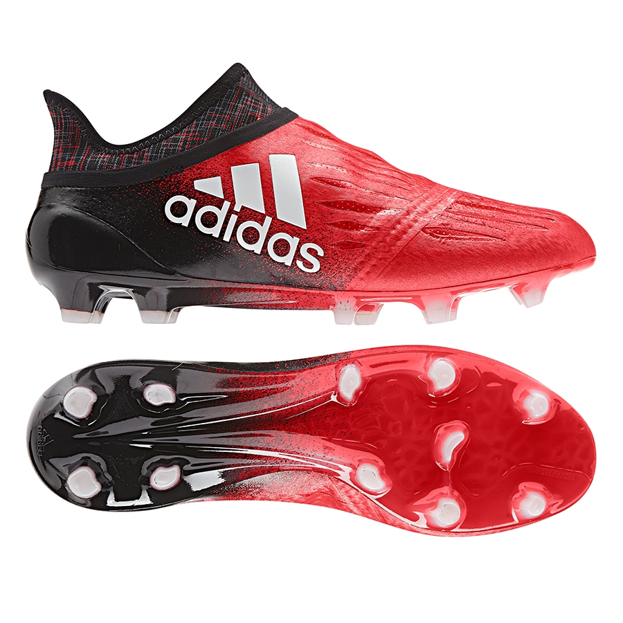 Adidas X 16 Purechaos FG Soccer Cleats (Red/White/Black)