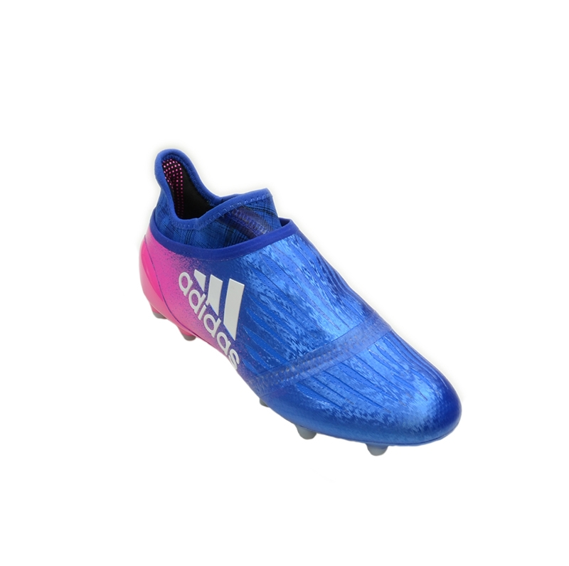 outlet online arriving factory outlets Adidas X 16+ Purechaos FG Soccer Cleats (Blue/White/Shock Pink)