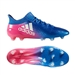 Adidas X 16.1 FG Soccer Cleats (Blue/White/Shock Pink)