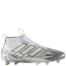 Adidas ACE 17+ Purecontrol FG Soccer Cleats (Clear Grey/White/Core Black) | BB5953