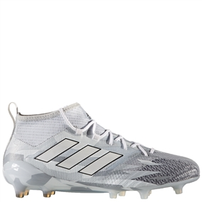 Adidas ACE 17.1 Primeknit FG Soccer Cleats (Clear Grey/White/Core Black) | BB5957