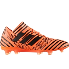 Adidas Nemeziz 17.1 FG Soccer Cleats (Solar Orange/Core Black/Solar Red) | BB6079