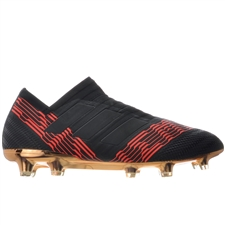 Adidas Nemeziz 17+ 360Agility FG Soccer Cleats (Core Black/Solar Red) | BB6317