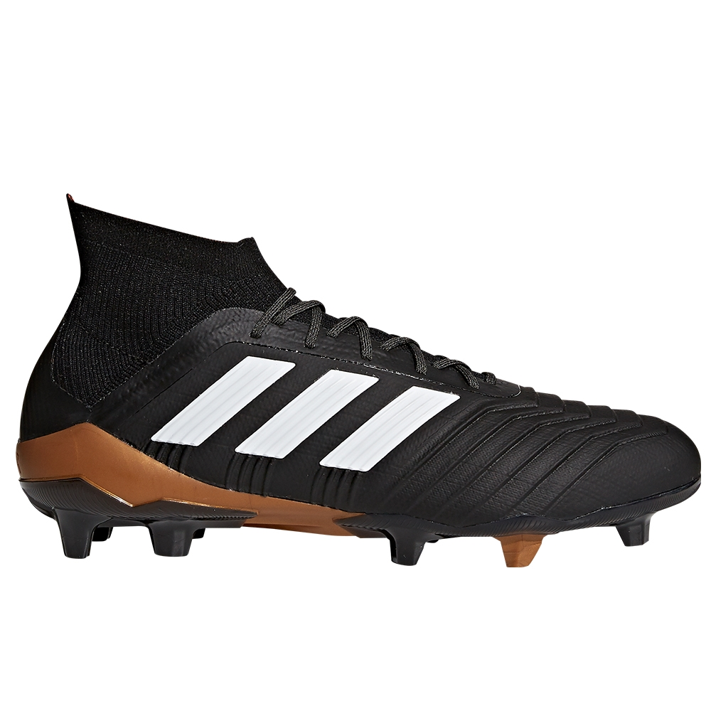 178c8c613225 Adidas Predator 18.1 FG Soccer Cleats (Core Black White Solar Red ...