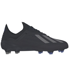 Adidas X 18.1 FG Soccer Cleats (Core Black/Bold Blue)