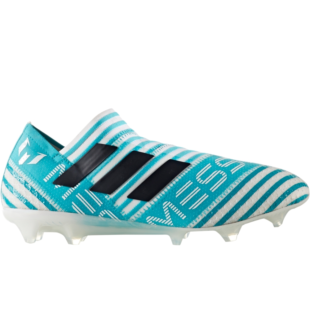 the latest 6a5b3 f78f4 Adidas Nemeziz Messi 17+ 360Agility FG Soccer Cleats (WhiteLegend  InkEnergy