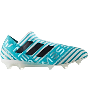 Adidas Nemeziz Messi 17+ 360Agility FG Soccer Cleats (White/Legend Ink/Energy Blue) | BY2401