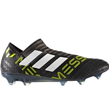 Adidas Nemeziz Messi 17+ 360Agility FG Soccer Cleats (Core Black/White/Solar Yellow) | CG2960