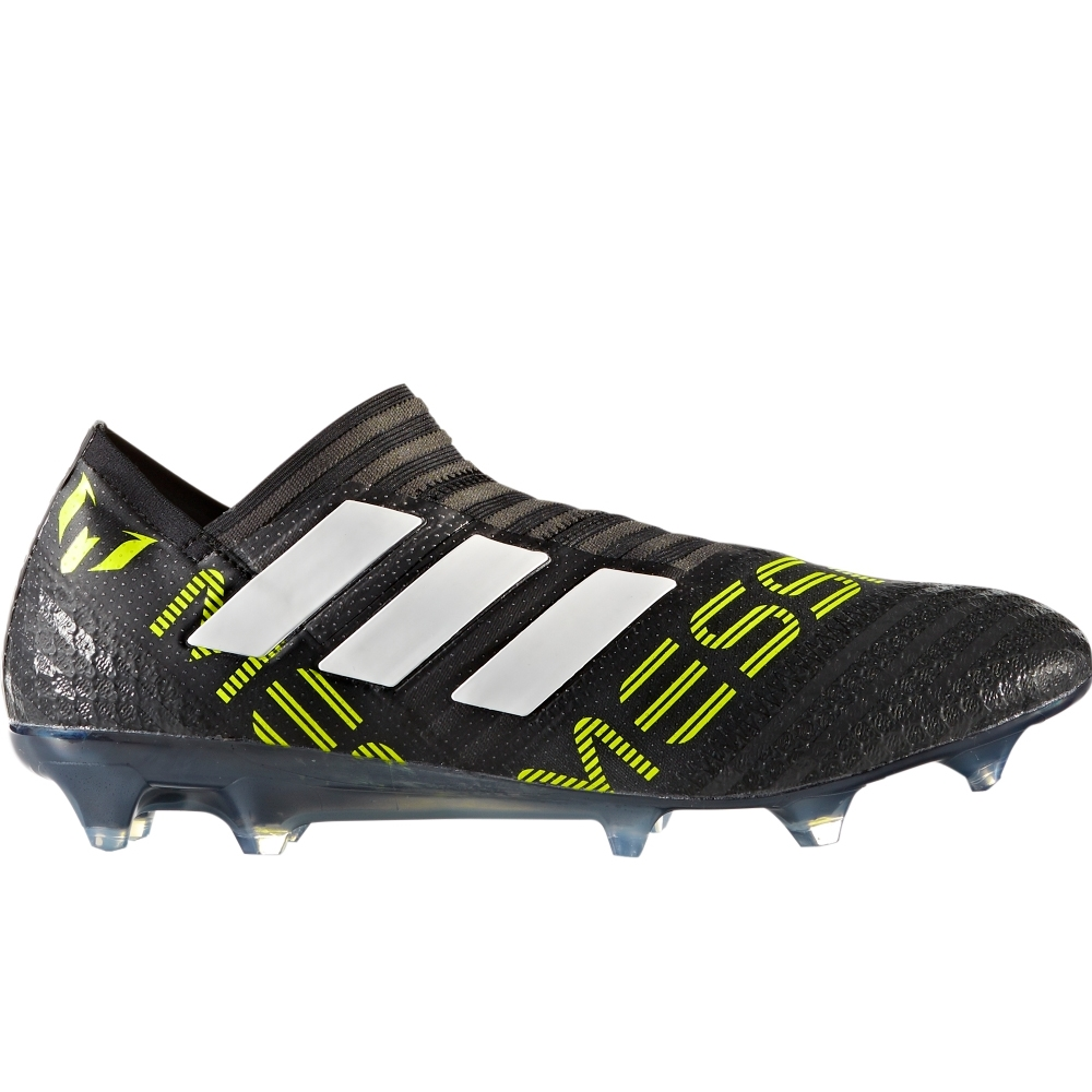 9b50ec97ce Adidas Nemeziz Messi 17+ 360Agility FG Soccer Cleats (Core  Black/White/Solar Yellow)