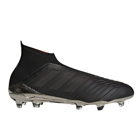 Adidas Predator 18+ FG Soccer Cleats (Core Black/Real Coral)
