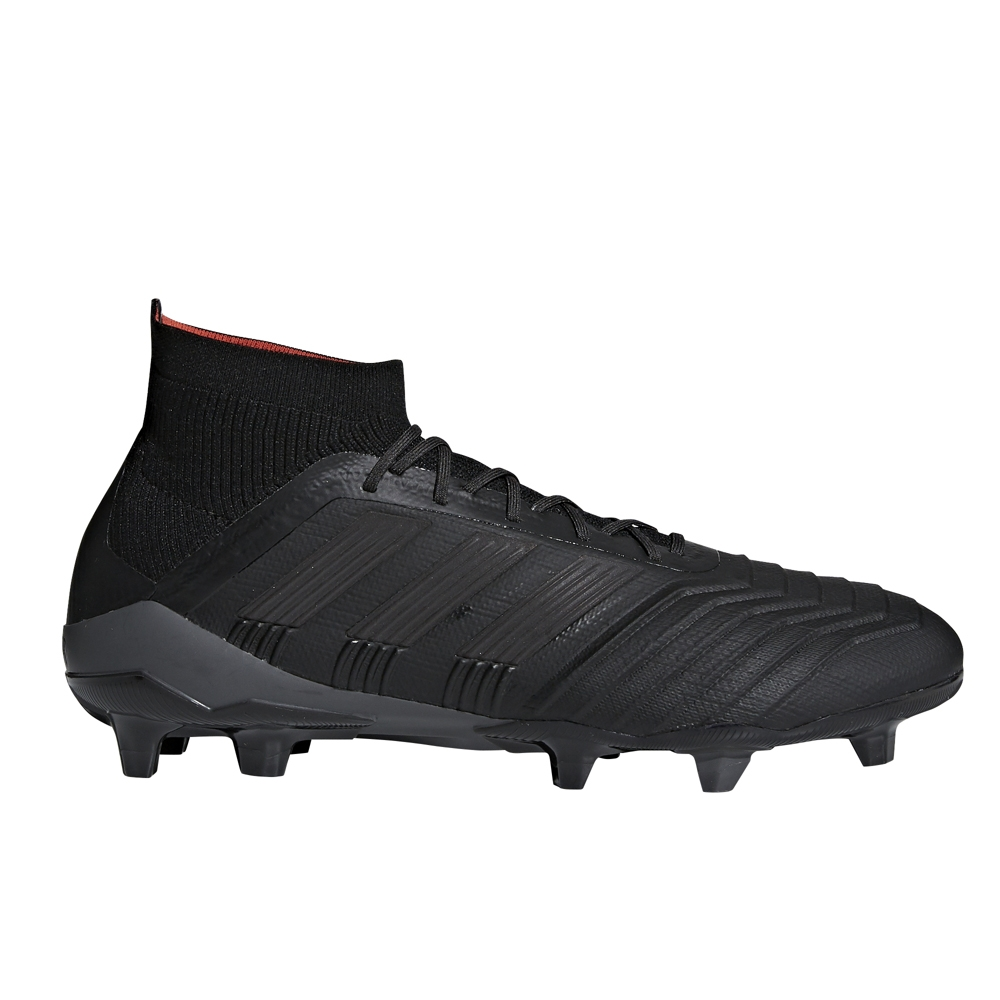 67d6fcf75be418 Adidas Predator 18.1 FG Soccer Cleats (Core Black Real Coral ...