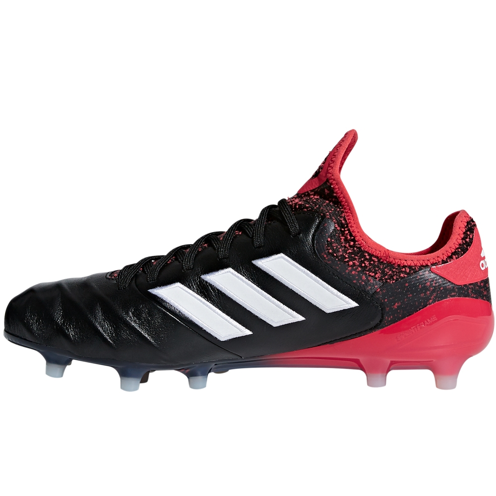 200249ed34d Adidas Copa 18.1 FG Soccer Cleats (Core Black White Real Coral ...
