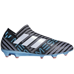 Adidas Nemeziz Messi 17+ FG Soccer Cleats (Grey/White/Core Black) | CM7734