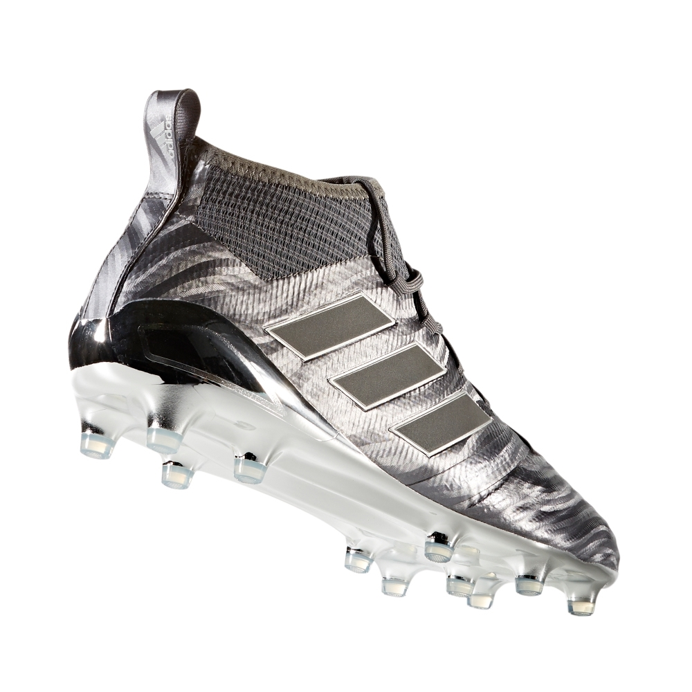 buy popular 4af11 11fe3 Adidas ACE 17.1 Magnetic Control FG Soccer Cleats (Mystery Ink/Silver  Metallic)