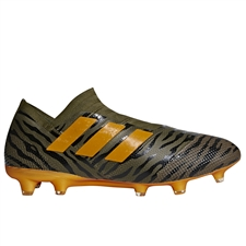 Adidas Nemeziz 17+ FG Soccer Cleats (Trace Olive/Bright Orange/Black) | CP8931