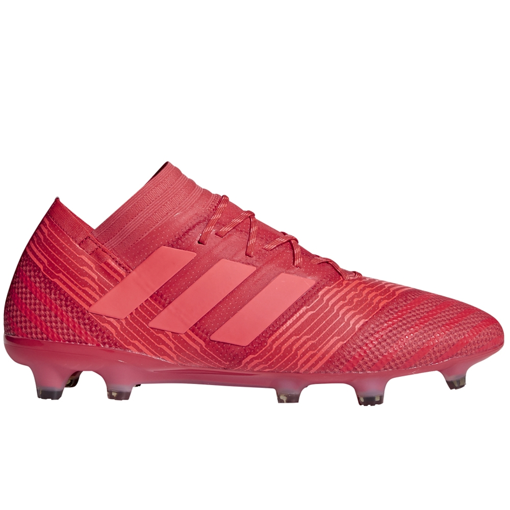 3ad2b4602 ... sweden adidas nemeziz 17.1 fg soccer cleats real coral red zest core  black ee9a2 007db