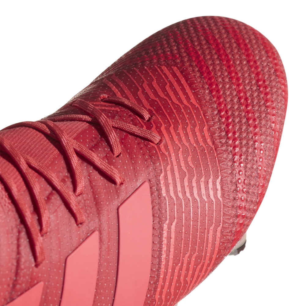 hot sale online 6e0bc 81386 Adidas Nemeziz 17.1 FG Soccer Cleats (Real Coral Red Zest Core ...