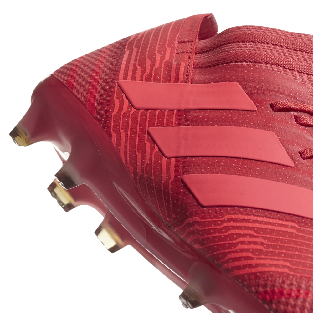 big sale 02b6d e28d0 Adidas Nemeziz 17.1 FG Soccer Cleats (Real Coral Red Zest Core Black)