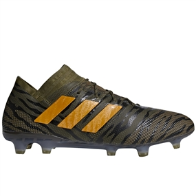 Adidas Nemeziz 17.1 FG Soccer Cleats (Trace Olive/Bright Orange/Black) | CP8936