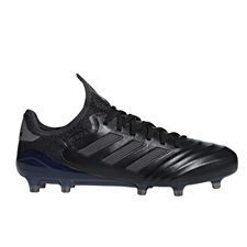 Adidas Copa 18.1 FG Soccer Cleats (Core Black/Utility Black)
