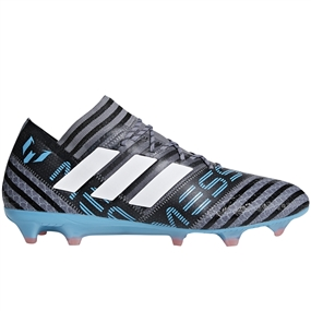 Adidas Nemeziz Messi 17.1 FG Soccer Cleats (Grey/White/Core Black) | CP9028