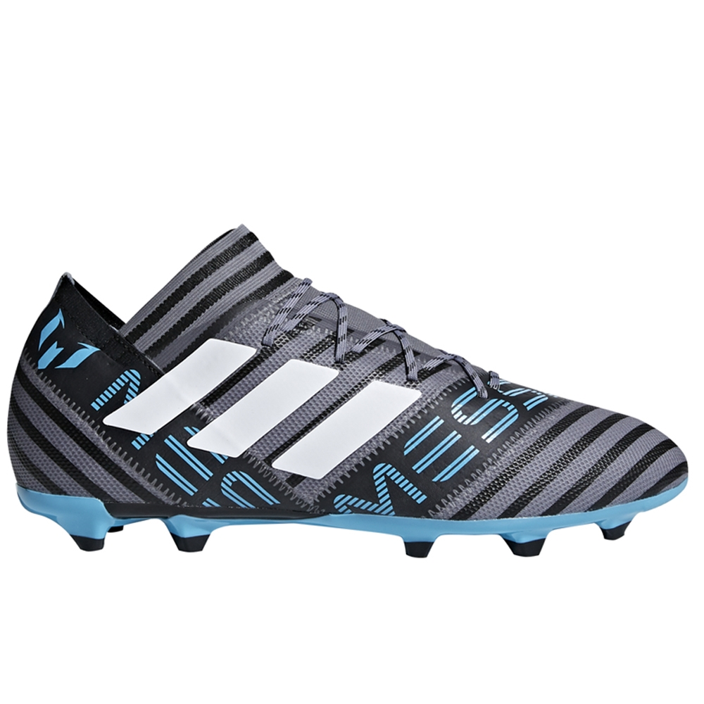 acc2c8519c1b Adidas Nemeziz Messi 17.2 FG Soccer Cleats (Grey/White/Core Black ...