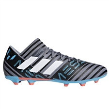 Adidas Nemeziz Messi 17.3 FG Soccer Cleats (Grey/White/Core Black) | CP9037