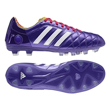 Adidas adiPure 11Pro TRX FG Soccer Cleats (Blast Purple/Running White/Vivid Berry)