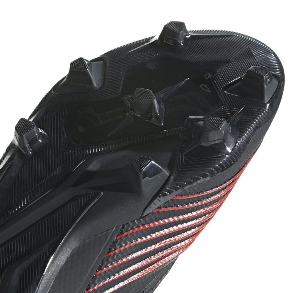 4ef82a860 Adidas Predator 19.2 FG Soccer Cleats (Core Black Active Red ...