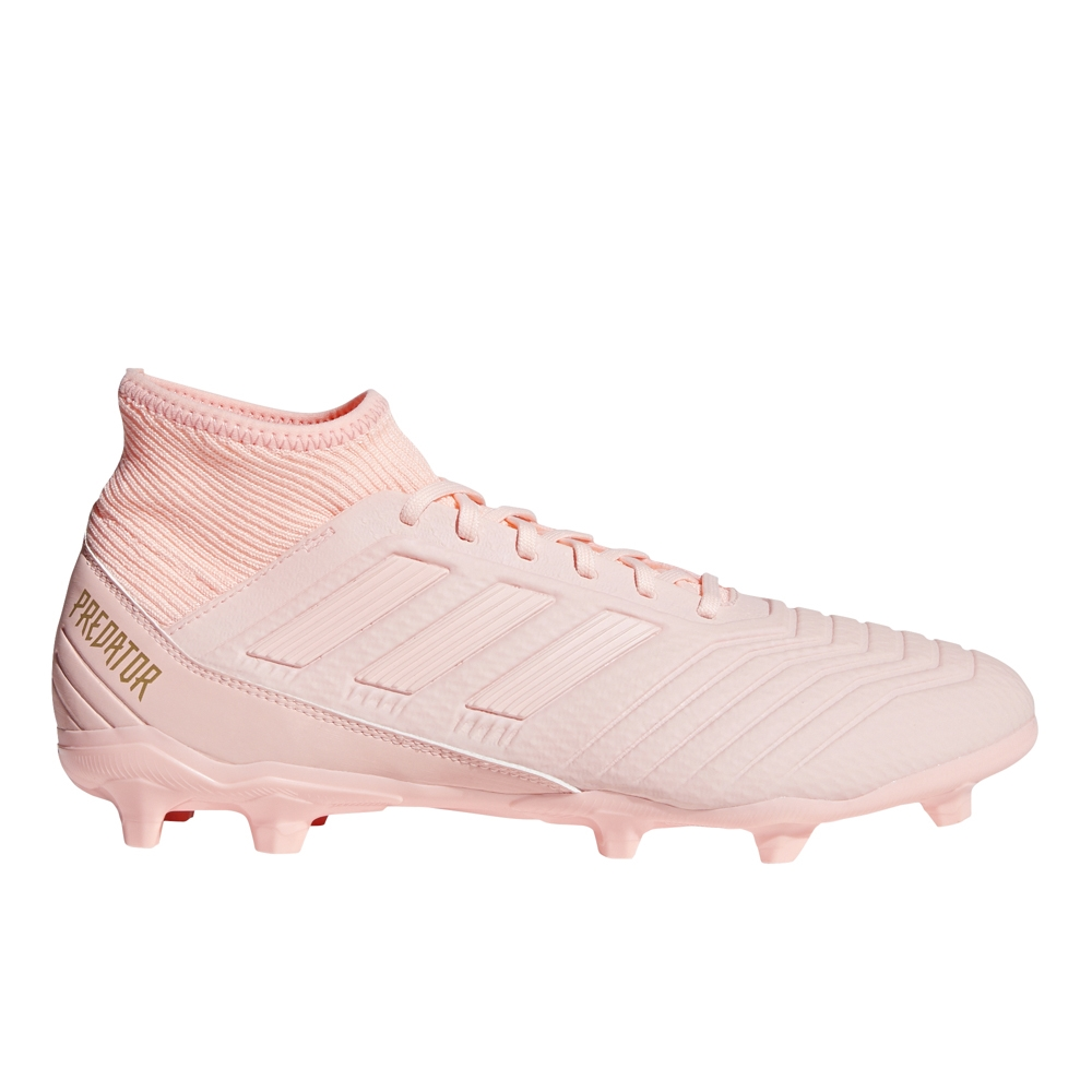 Adidas Predator 18.3 FG Soccer Cleats (Clear Orange/Trace Pink)