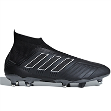 Adidas Predator 18+ FG Soccer Cleats (Black/White)