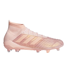 Adidas Predator 18.1 FG Soccer Cleats (Clear Orange/Trace Pink)
