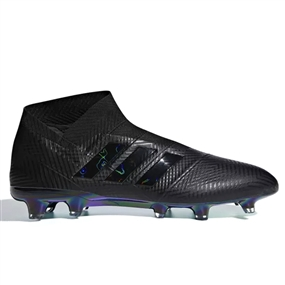 Adidas Nemeziz 18+ FG Soccer Cleats (Black/White)| DB2070
