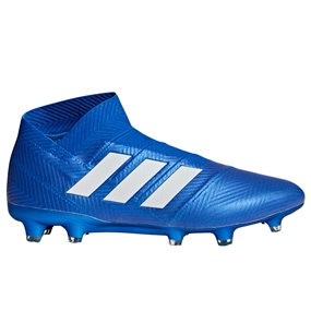 Adidas Nemeziz 18+ FG Soccer Cleats (Football Blue/White) | DB2071