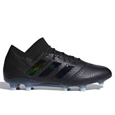 Adidas Nemeziz 18.1 FG Soccer Cleats (Black/White)