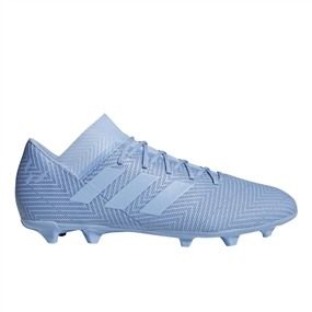 Adidas Nemeziz Messi 18.3 FG Soccer Cleats (Ash Blue/Gold Metallic) | Adidas DB2112