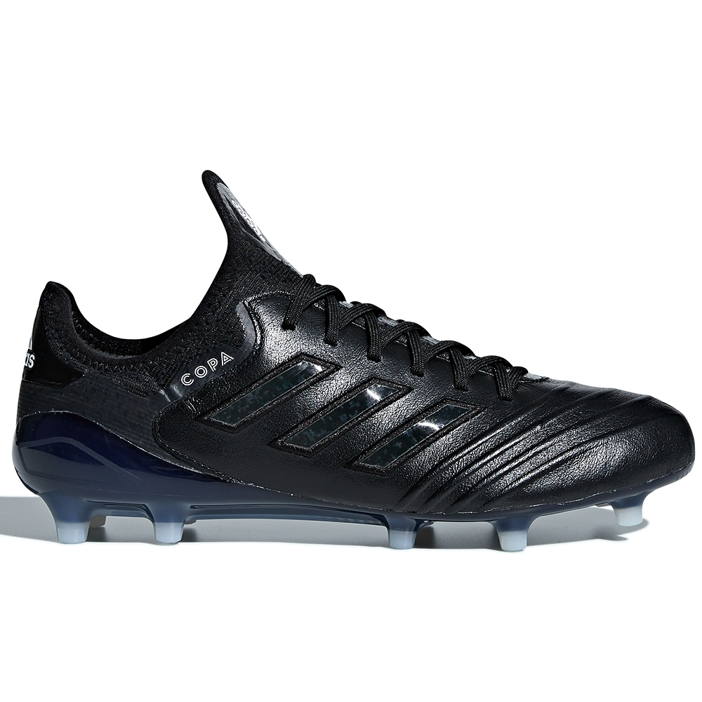 Adidas Copa 18.1 FG Soccer Cleats (Black/White/Black)
