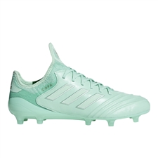 Adidas Copa 18.1 FG Soccer Cleats (Clear Mint/Gold Metallic)